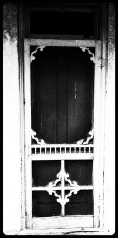 Old Screen Doors via Flickr...for when I need to know how to draw a door.