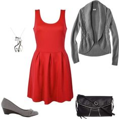 """Red Dress"" on Polyvore"