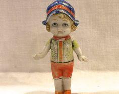 Vintage Bisque Doll Frozen Charlotte White by VintagePrairieHome