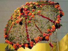 Flower umbrella | Pé no Chão Cabeça Feita: November 2013