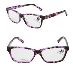 The purple shade keeps these tortoiseshell frames feeling modern. | 19 Essential Statement-Making Glasses Frames