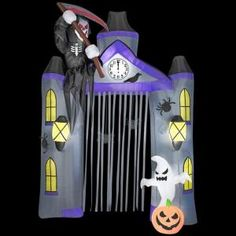 Gemmy 9.5 ft. Inflatable Reaper Archway-52775 at The Home Depot  $99.98 / each