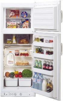 Dometic-Servel RGE400 2-Way (Propane-120V) Refrigerator-Freezer 8.0 cu.ft.
