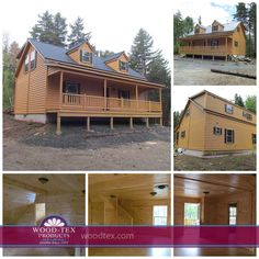 Such A Beautiful Cabin. (Modular Cabin   Lanier Style In Vermont, By Wood
