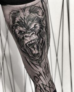 "Inez Janiak on Instagram: ""🖤check out my studio @inne_tattoo🖤#wowtattoo #blacktattoomag #blacktattooart #inkstinctsubmission #equilattera #black #btattooing…"" Sketch Style Tattoos, Black Tattoos, Ink, Studio, Instagram, Study, Ink Art"