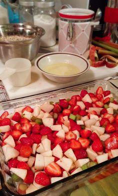 2016-07-12-22-13-01 Pumpkin Brownies, Cordon Bleu, Desert Recipes, Fruit Salad, Crisp, Deserts, Good Food, Food And Drink, Cooking Recipes