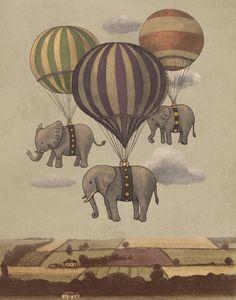 Elephants on parade...