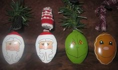 Lots o' lightbulb and spoon ornaments-- pic heavy! - OCCASIONS AND HOLIDAYS