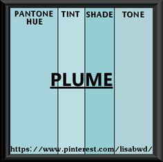 PANTONE SEASONAL COLOR SWATCH PLUME