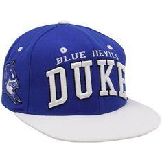 Zephyr Duke Blue Devils Duke Blue-White Superstar Snapback Adjustable Hat  Duke Apparel 2c973506222