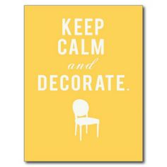 How to get over Decorating Paralysis.  Are you sure you're not one of the millions of decorating enthusiasts suffering with this affliction? The prescription comes with only good side effects.