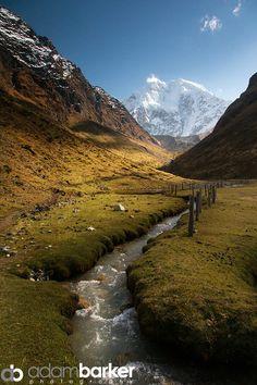 Salcantay Valley, Andes, Peru