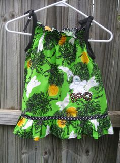 Ghost Applique Pillowcase Dress by MySweetByDesign on Etsy, $28.00