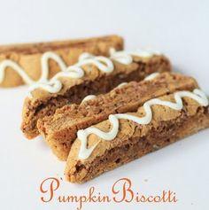 Pumpkin Pie Biscotti recipe
