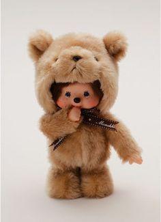 cutielittledimple:    Fluffy monchichi
