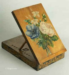 Antique Compact Easel Box - circa 1830, United Kingdom