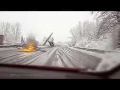 Eine Dashcam filmt Außerirdische auf der Autobahn A3 in Deutschland nahe Oberhausen - Area 51 ?