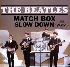 Beatles 45 Rpm Picture Sleeve - Slow Down B/W Matchbox