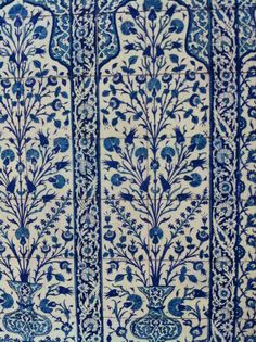 VICTORIA-AND-ALBERT-BLUE-AND-WHITE-TURKISH-TILES-WEB Turkish Art, Turkish Tiles, Portuguese Tiles, Tile Murals, Tile Art, Blue Pottery, Pottery Art, Im Blue, Blue And White
