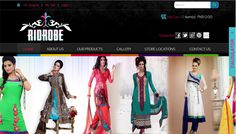 RIDEROBE designs for spirited women whose distinctive style is an expression of their individuality. A sense of cool confidence and discovery underpins the design aesthetic of the brand, which seeks to combine the polished and the playful aspects of a woman...http://ridrobe.com/   Design & Developed by i.media WWW.IMEDIA.COM.PK