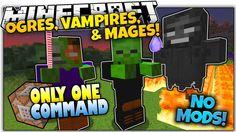 NEW MOBS IN VANILLA MINECRAFT! | NO Mods | Only One Command (Minecraft V...