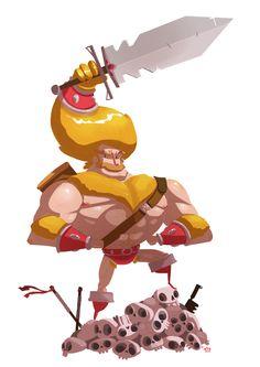 Epic Heroes' Epic Adventures! by Ido Yehimovitz, via Behance