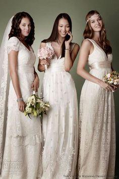 the vintage wedding dress company 2013 decades bridal collection dresses victorian edwardian