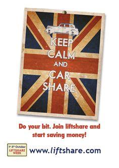 Liftshare Week (1-5 October 2012) - poster 2 of 3! #liftshareweek
