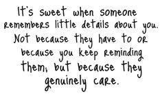 It is sweet