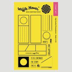 Storyboard Stamp Set | Waffle Flower Crafts