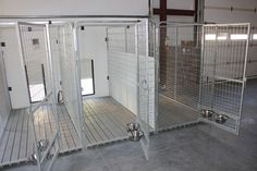 Indoor Dog Kennel System | ... Kennels) - Ideal for Indoor/Outdoor Dog Kennel Systems from K9 Kennel #DogKennels