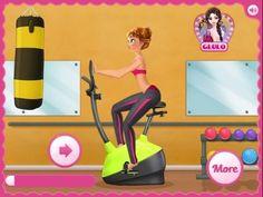 Anna Gym Workout - Frozen Game Tutorial 2016