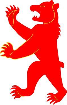 bear without tongue coat of arms clip art vector clip art online rh pinterest com coat of arms supporters clipart coat of arms clipart free