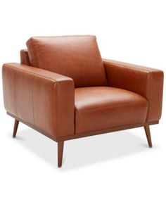 Reclining Sofa Genesis Leather Sofa with Brushed Brass Base Leather sofas Seat cushions and Cozy