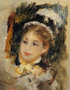.Dame en toilette de Ville, 1875 Renoir