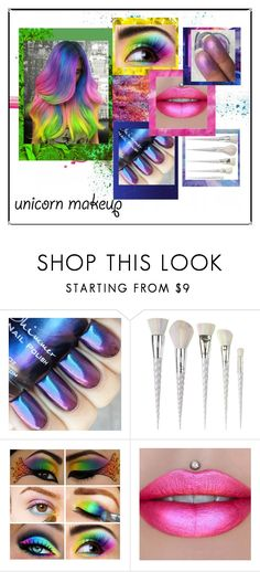 """""""unicorn rainbow makeup"""" by alexei-puha on Polyvore featuring beauty, Givenchy, Unicorn Lashes and Jeffree Star"""