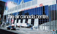Air Canada Centre Canadian Things, I Am Canadian, Air Canada Centre, Beautiful Vacation Spots, O Canada, Has Gone, Toronto, To Go, In This Moment