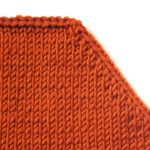 Knit 2 together and slip stitch over
