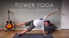 """This Power Yoga """"Balance"""" 30 minute practice will be challenging and fun! Balance is often neglected but in this class it is the focus. This class will help . Soul Meaning, Different Types Of Yoga, Yoga For Flexibility, Yoga Journal, Yoga Teacher Training, How To Get Warm, Yin Yoga, Yoga Flow, Yoga For Beginners"""