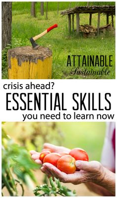 Uncertain times call for proactive measures. Learn these basic household and survival skills now to prevent hardship in case of future crisis.