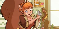 From befriending Galactus to online dating disasters, these are the most laugh-out-loud moments in Squirrel Girl's comic book history.