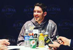 """Always smiling. #NHLAllStar"""