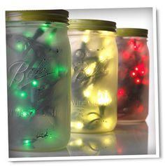 Christmas Mason Jar Lights