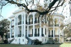 style colonial américain . Nottoway sera la dernière des grandes maisons de ce style en Louisiane.