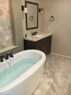 At TWD our experienced team of designers can tailor your specific needs and stay within your budget. Corner Jacuzzi Tub, Bathtub, Master Bath Remodel, Master Bathroom, Decorative Tile, Dream Bathrooms, Building Design, Home Remodeling, Vanity