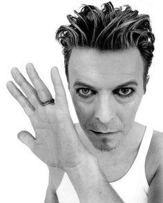 David Bowie by John Rankin, 1995.