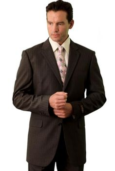 Poly/Rayon Men's Classic affordable suit online sale Brown | MensITALY  Price: US $109