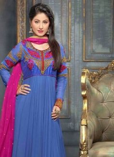 VandV Glorious And Fashionable Designer Blue Anarkali Suits buy best designer sarees collections,Best Deals On Womens Wear online store, Best Deals On Anarkali salwar Kameez, End of Season Sale on Designer Dress Matirials and Kurti #dress #salwarkameez #cotton #designer #readymad #fancydress #Anarkali #Paiala #Punjabi #Casual #Long #Cotton #long #saree #designer #printedsaree #casualwear #casualstyle #casualsaree #silksarees