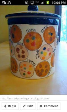 Fingerprint Cookie jar