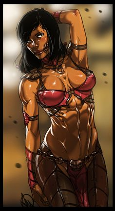 Ok, guys, Mortal Kombat X is imminent! :)  Let's celebrate with Mileena!  Who will be the next Mortal Kombat girl?